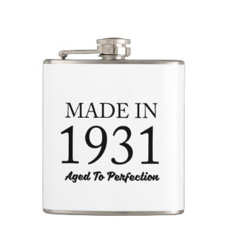 Made In 1931 Flasks
