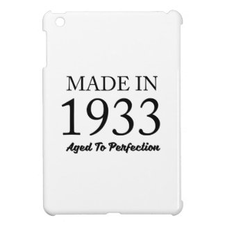 Made In 1933 Cover For The iPad Mini