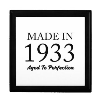 Made In 1933 Jewelry Boxes