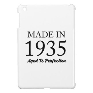 Made In 1935 iPad Mini Cover