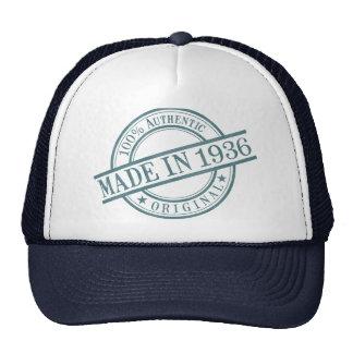 Made in 1936 trucker hat