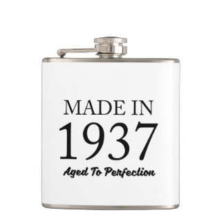 Made In 1937 Flasks