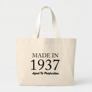 Made In 1937 Large Tote Bag
