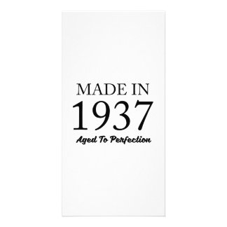 Made In 1937 Picture Card