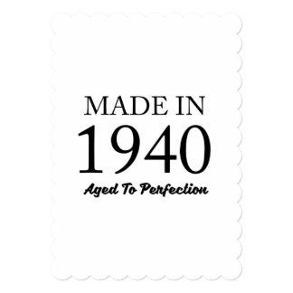 Made In 1940 Card