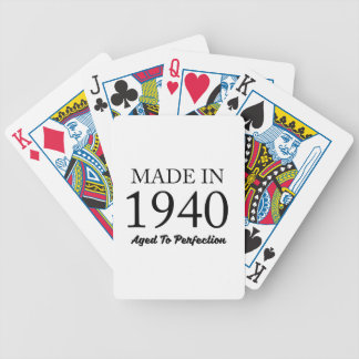 Made In 1940 Poker Deck