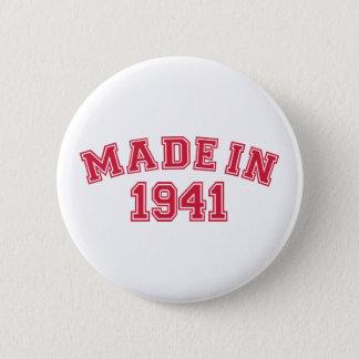 Made in 1941 2 inch round button