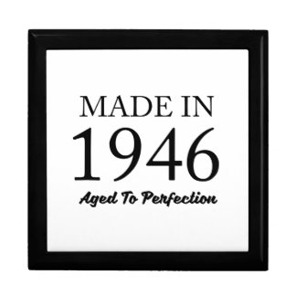 Made In 1946 Keepsake Boxes