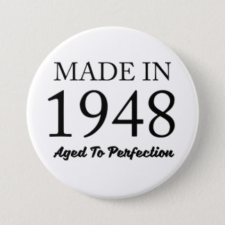 Made In 1948 3 Inch Round Button