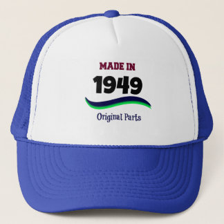 Made in 1949, Original Parts Trucker Hat