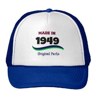 Made in 1949, Original Parts Trucker Hat