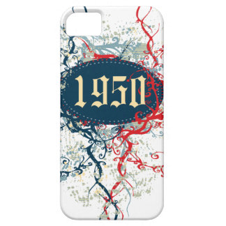 Made in 1950 or Since 1950 or 1950 Birthday Year iPhone 5 Covers