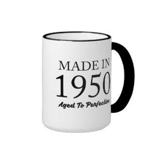 Made In 1950 Ringer Coffee Mug