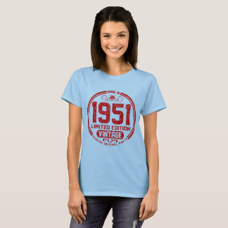 made in 1951 limited edition vintage genuine T-Shirt
