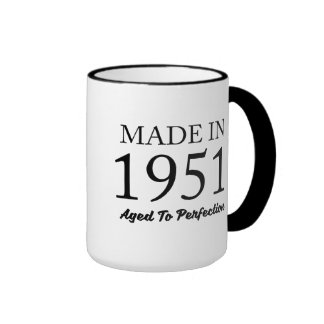 Made In 1951 Ringer Coffee Mug