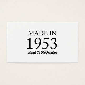 Made In 1953 Business Card