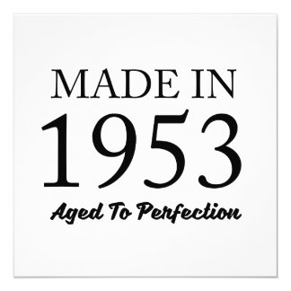 Made In 1953 Card