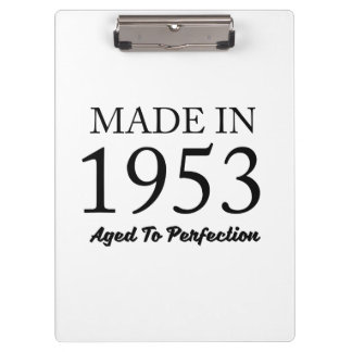 Made In 1953 Clipboards