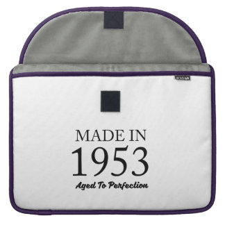 Made In 1953 Sleeves For MacBooks
