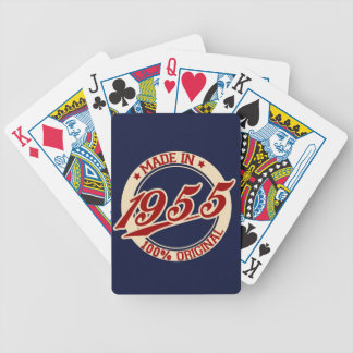 Made In 1955 Bicycle Playing Cards