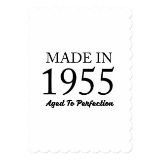 Made In 1955 Card