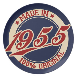 Made In 1955 Dinner Plates