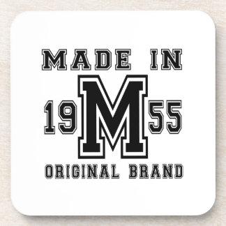 MADE IN 1955 ORIGINAL BRAND BIRTHDAY DESIGNS COASTER
