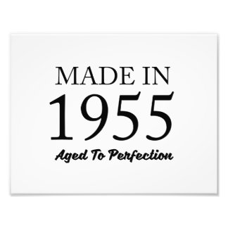 Made In 1955 Photo Print