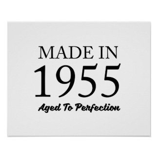 Made In 1955 Poster