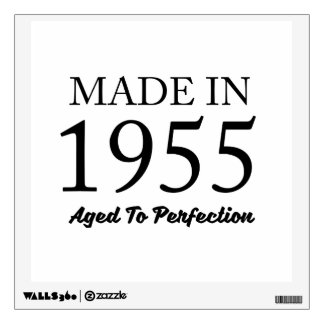 Made In 1955 Wall Sticker