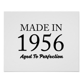 Made In 1956 Poster
