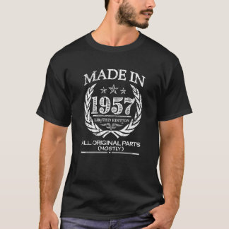 Made in 1957 - 60th Birthday shirt - funny