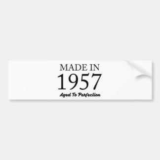 Made In 1957 Bumper Sticker