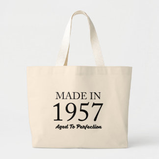 Made In 1957 Large Tote Bag