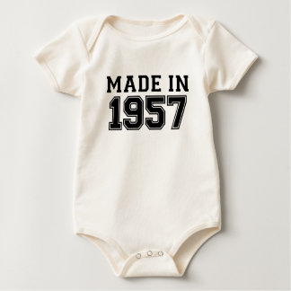 MADE IN 1957.png Baby Bodysuit