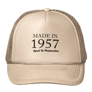 Made In 1957 Trucker Hat