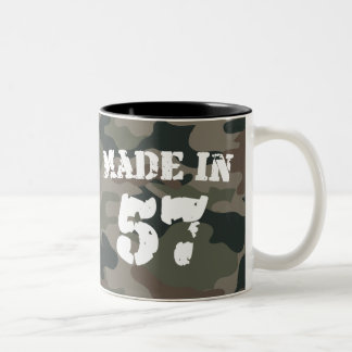 Made In 1957 Two-Tone Coffee Mug