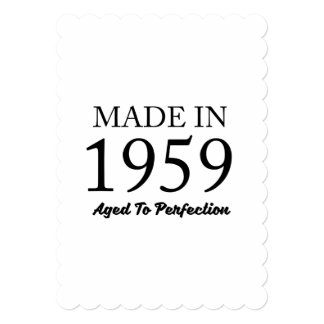 Made In 1959 Card