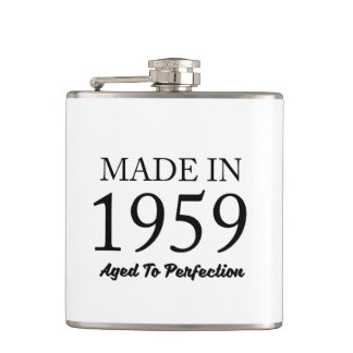 Made In 1959 Hip Flask
