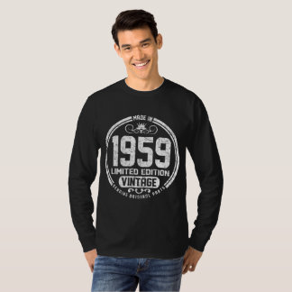 made in 1959 limited edition vintage genuine origi T-Shirt
