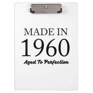 Made In 1960 Clipboard