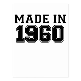 MADE IN 1960.png Postcard