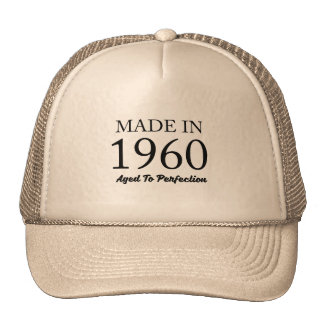 Made In 1960 Trucker Hat