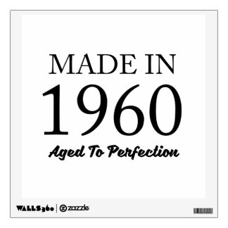 Made In 1960 Wall Sticker