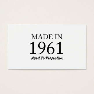 Made In 1961 Business Card