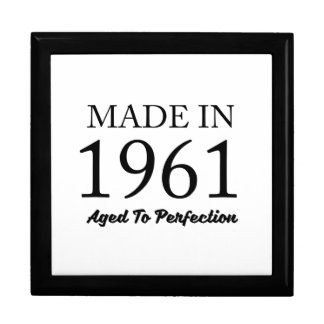 Made In 1961 Gift Box