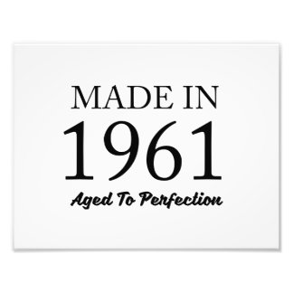 Made In 1961 Photo Print