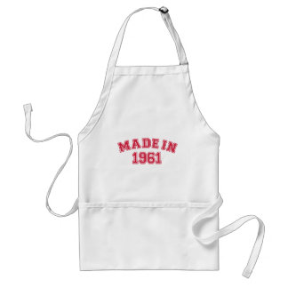 Made in 1961 standard apron