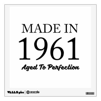 Made In 1961 Wall Sticker