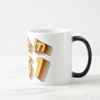 Made in 1961 (Yellow&Red) Magic Mug